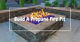 build a propane fire table how to build a propane fire pit