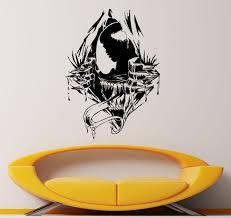 venom vs spider man wall decal symbiote vinyl sticker comic