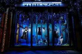 eight best christmas window displays creative review