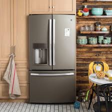 modern kitchen look get a new kitchen look with ge appliances with premium slate