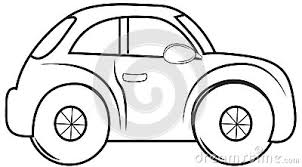 50 cars clipart black and white