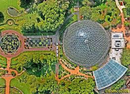 Missouri Botanical Gardens The Climatron At The Missouri Botanical Garden Synergetics Inc