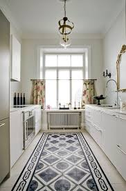 White Kitchen Cabinets With Tile Floor Cafe Flooring Ideas Bathroom Shabby Chic Style With Penny Tile