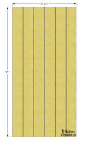 Sliding Barn Door Construction Plans Remodelaholic Simple Diy Barn Door Tutorial