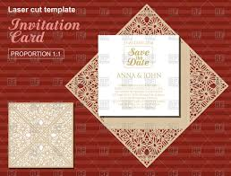 Wedding Invitation Card Free Download Die Laser Cut Wedding Card Template Wedding Invitation Card With