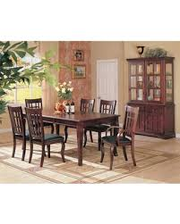 China Cabinet And Dining Room Set Bargains On Newhouse 100500set 8 Pc Dining Room Set With Table 4