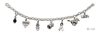 sterling sivler charm bracelets and charms