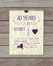 20 year anniversary gift 20 wedding anniversary gift image collections wedding decoration