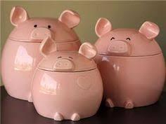 pig kitchen canisters novelty kitchen compost crocks kitchen stuff