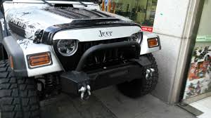 jeep grill decal jeep tj mad angry grill 3m wrap lookin super sweet part 2 youtube