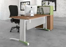bureau top office couleur 90 symmetrical top office desk with mfc modesty panel