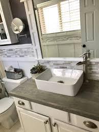 Builders Grade Bathroom by Diy Bathroom Vanity A Builders Grade Upgrade U2013 Brandnewell