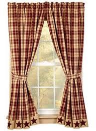 bj u0027s country charm burgundy farmhouse star shower curtain