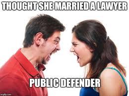 Wife Husband Meme - angry fighting married couple husband wife meme generator imgflip