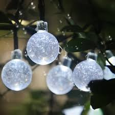 innoo tech solar string lights outdoor globe