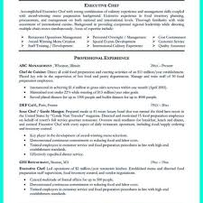 culinary resume exles chef resume exles best resume and cv inspiration