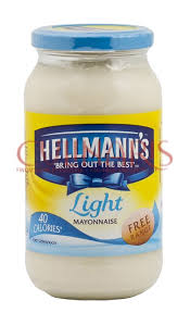hellmans light mayo nutrition hellmann s light mayonnaise 400g culinaris hu