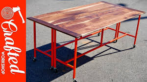 Metal Conference Table How To Build A Conference Table Dining Table W Walnut U0026 Steel