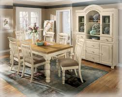 ashley furniture farmhouse table pleasing ashley furniture cottage retreat dining room set home