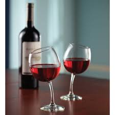 the mirthful sommelier u0027s wine glasses hammacher schlemmer