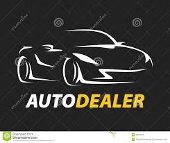 sports car logos concept auto dealer car logo with supercar sports vehicle