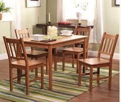 5 pc bamboo dining set