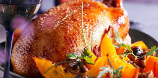 cuisiner une oie pour no oie rôtie aux marrons et potimarron facile recette sur cuisine