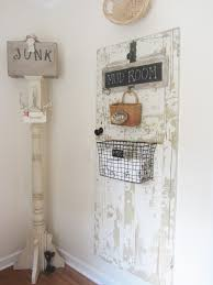 junk chic cottage laundry room