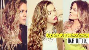 khloe kardashian hair tutorial kiran khan youtube