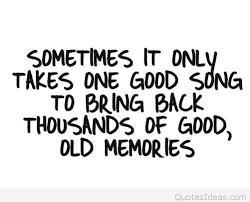 memories song quote