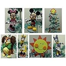 mickey mouse clubhouse 5 mini ornament set