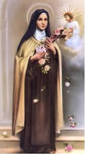Prayer To St Therese The Little Flower - shower of roses novena to saint thérèse