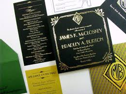 gatsby wedding invitations great gatsby deco wedding invitations digby digby