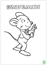 geronimo stilton free coloring pages on art coloring pages