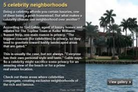 Where Do Celebrities Live In California - celebrity homes bankrate com