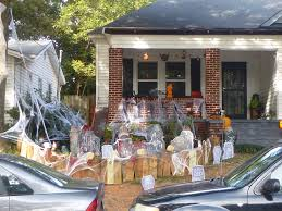 halloween decorations atlanta my search for magic these houses in