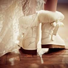 schuhe f r hochzeit winter wedding this just married uggs for winter 1722897