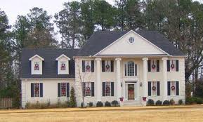 colonial home plans colonial style house plans plan 6 1389