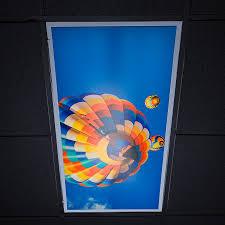 2 X 4 Ceiling Light Covers Skylens Fluorescent Light Diffuser Balloon 2 Decorative Light