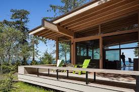 Sustainable House Design Ideas Comfortable Orcas Island Retreat Heliotrope Architects Living Room