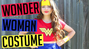 diy wonder woman halloween costume youtube