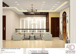 double floor kerala house design with interior photos kerala