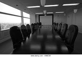 Black Boardroom Table Boardroom Black And White Stock Photos U0026 Images Alamy