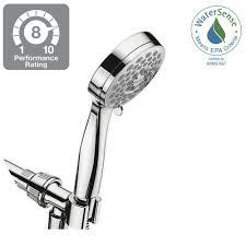 waterpik torrent 9 spray 4 5 in hand shower in chrome yat 963t