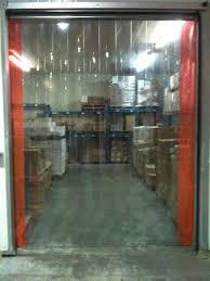 Standard Patio Door Size Curtains by Door Design Cortina Strip Doors Dav Door Solutions Lamas Olympus