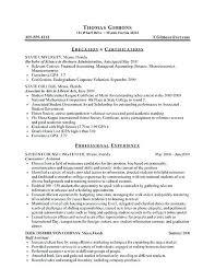 Agile Resume Sample Of Experience Resume Accountant Resume Sample 1 Year