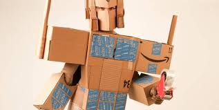 you can make your own amazon prime costume this halloween