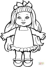 dolls coloring pages coloring