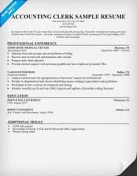 resume sle of accounting clerk test speed accounting resume exles musiccityspiritsandcocktail com