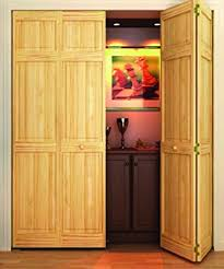28 Inch Bifold Closet Doors Closet Door Bi Fold 6 Panel Style Solid Wood 80x24 Closet